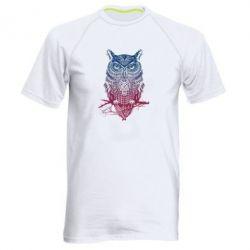 Мужская спортивная футболка Owl Art - FatLine