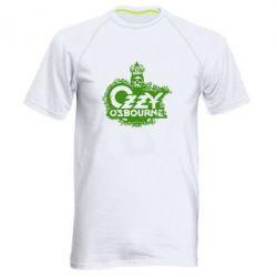 Мужская спортивная футболка Оззи Озборн - FatLine