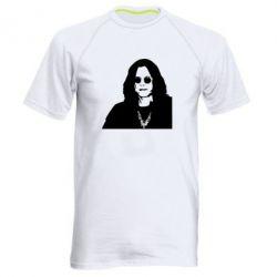 Мужская спортивная футболка Ozzy Osbourne face - FatLine