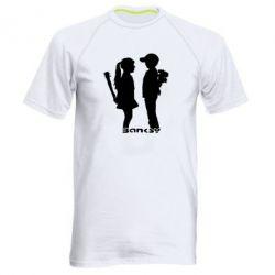 Мужская спортивная футболка Пара Bancsy - FatLine