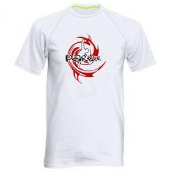 Мужская спортивная футболка Parkour Logo - FatLine