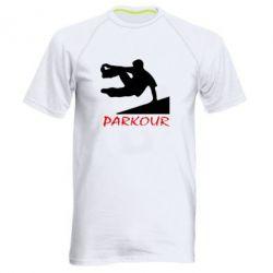 Мужская спортивная футболка Parkour Run - FatLine