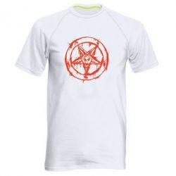 Мужская спортивная футболка Пентаграмма - FatLine