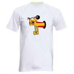 Мужская спортивная футболка Пес - FatLine