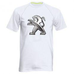Чоловіча спортивна футболка Peugeot Logo