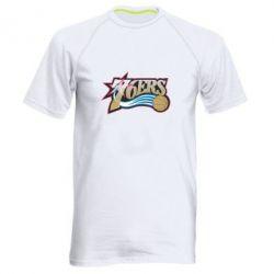 Мужская спортивная футболка Philadelpia 76ers - FatLine