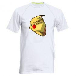 Мужская спортивная футболка Pikachu - FatLine