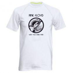 Мужская спортивная футболка Pink Floyd Wish You - FatLine