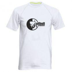 Мужская спортивная футболка Питбуль Синдикат - FatLine