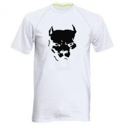 Мужская спортивная футболка Питбуль - FatLine
