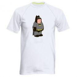 Мужская спортивная футболка Питер Гриффин Бэтмен - FatLine