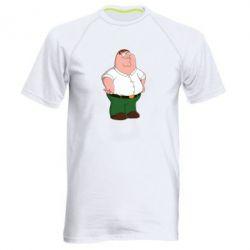 Мужская спортивная футболка Питер Гриффин - FatLine