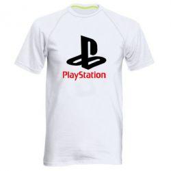 Мужская спортивная футболка PlayStation - FatLine