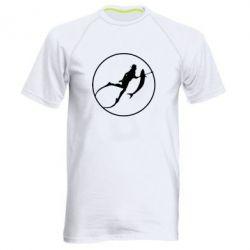 Мужская спортивная футболка Подводная охота - FatLine