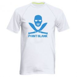 Мужская спортивная футболка Point Blank - FatLine
