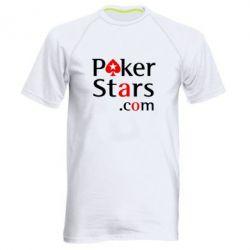Мужская спортивная футболка Poker Stars - FatLine