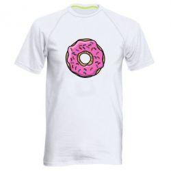 Мужская спортивная футболка Пончик Гомера - FatLine