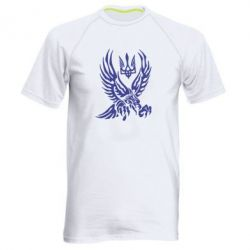 Мужская спортивная футболка Птах та герб - FatLine