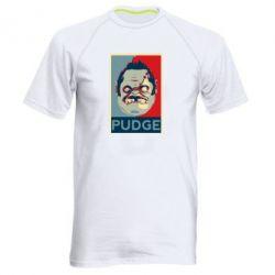 Мужская спортивная футболка Pudge aka Obey - FatLine