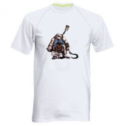 Мужская спортивная футболка Pudge Art - FatLine