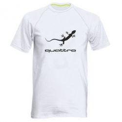 Мужская спортивная футболка Quattro - FatLine