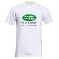 Мужская спортивная футболка Range Rover Logo Metalic - FatLine