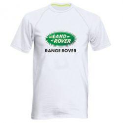 Мужская спортивная футболка Range Rover - FatLine