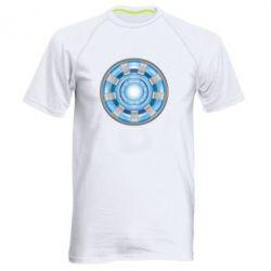 Мужская спортивная футболка Реактор Тони Старка - FatLine