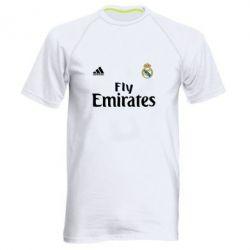 Мужская спортивная футболка Реал - FatLine