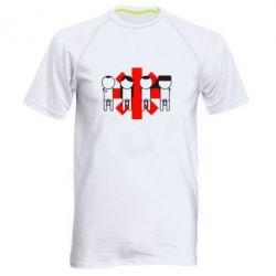 Мужская спортивная футболка Red Hot Chili Peppers Group - FatLine