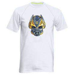 Чоловіча спортивна футболка Робот bumblebee