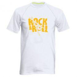 Мужская спортивная футболка Rock&Roll - FatLine