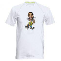 Мужская спортивная футболка Ronaldinho - FatLine