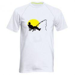 Мужская спортивная футболка Рыбак