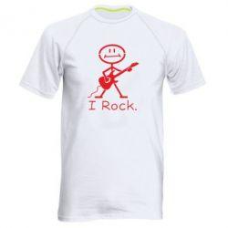 Чоловіча спортивна футболка З гітарою - FatLine