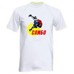 Мужская спортивная футболка Sambo - FatLine