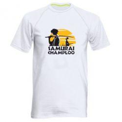 Мужская спортивная футболка Samurai Champloo - FatLine
