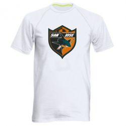 Мужская спортивная футболка San Jose Sharks - FatLine