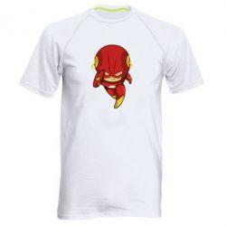 Мужская спортивная футболка Сartoon Flash - FatLine