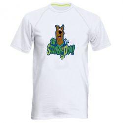 Мужская спортивная футболка Scooby Doo! - FatLine