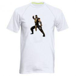 Мужская спортивная футболка Scorpion Art