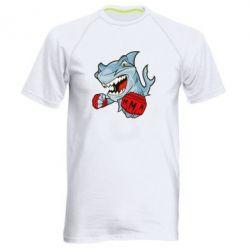 Мужская спортивная футболка Shark MMA - FatLine