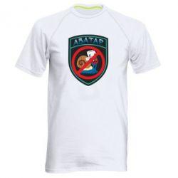 Мужская спортивная футболка Шеврон Анти Аватар - FatLine