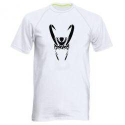 Мужская спортивная футболка Шлем Локи - FatLine