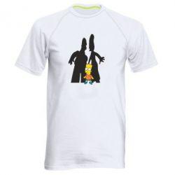 Мужская спортивная футболка Simpsons - FatLine
