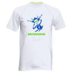 Мужская спортивная футболка Skidiving - FatLine
