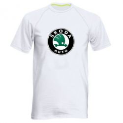 Мужская спортивная футболка Skoda Auto - FatLine