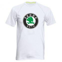 Мужская спортивная футболка Skoda Small - FatLine