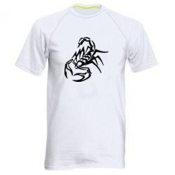 Мужская спортивная футболка скорпион 2