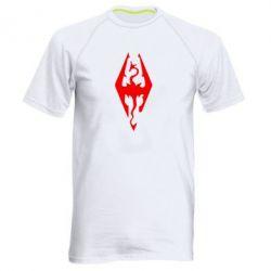 Мужская спортивная футболка Skyrim - FatLine